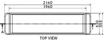 Franke BTS standard body tray