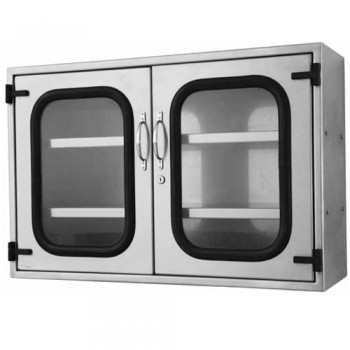 stainless steel instrument cabinet hospital mortuary 359630