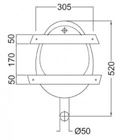 prison wall hung stainless steel bowl urinal measurements size diagram south africa