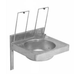 hospital laundry cleaner sink stainless steel