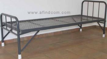 hospital steel bed supplier africa mining school foldable namibian folding