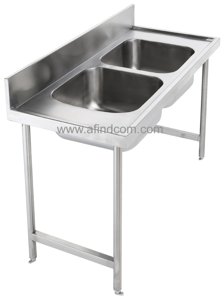 Fixing options for catering sinks and tables gallows for Table options