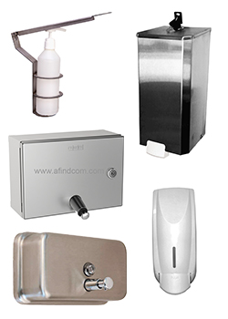 Hand soap dispensers manual operated