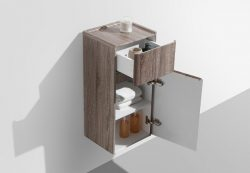 small bathroom side vanity