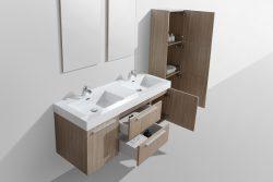 bathroom vanities oak light wood
