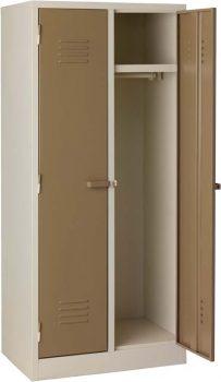 change room washroom locker steel ivory