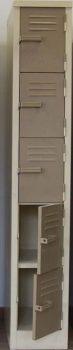 five 5 compartment locker steel hostel school mine supplier