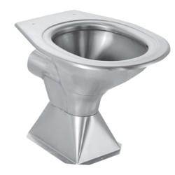Franke HCL pedestal toilet pan 356084 356072 toalete stainless steel vandal resistant