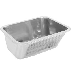 Sirx342 single bowl wash trough 318619