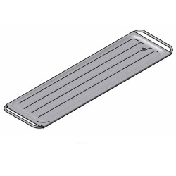 Franke stainless steel pressed body tray sketch
