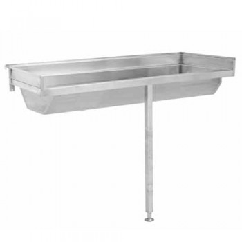 franke ldl wash trough hand basin wall hung stainless steel