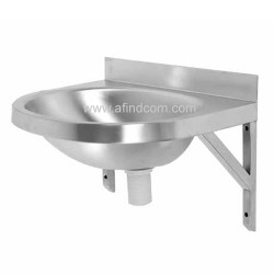 oval a stainless steel basin wall hung franke