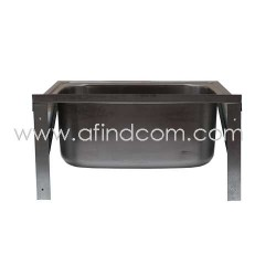 stainless steel washtrough industrial basin