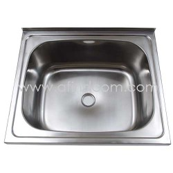 washtrough wash trough large sink kitchen hand wash franke stainless steel kwikot metal steel basin