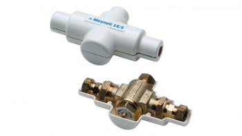 thermostatic mixing hot cold tap valve
