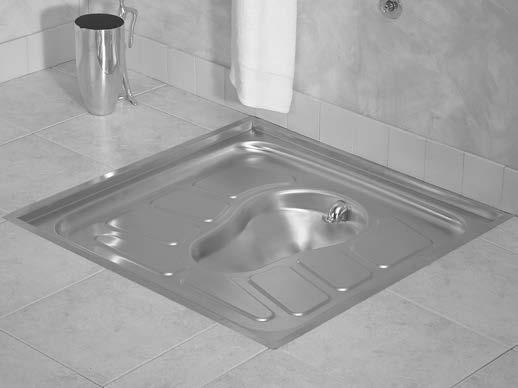 Stainless Steel Prison Squat Pan Prison Asian Toilet
