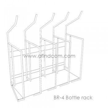 BR-4 Bottle Rack