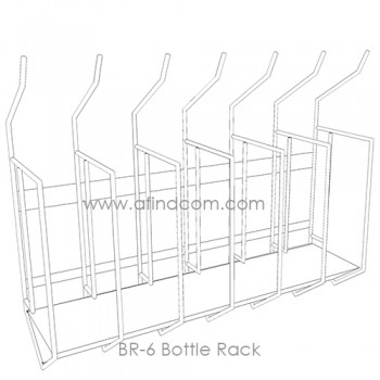 BR-6 Bottle Rack