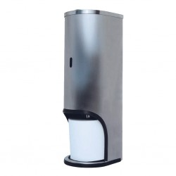 three roll stainless steel toilet roll holder