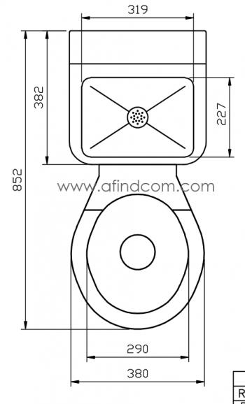 prison toilet basin combo