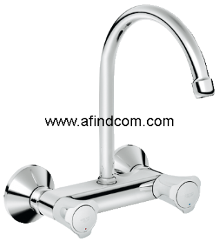wall mounted tap catering sink mixer