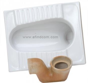 ceramic squat pan oriental toilet