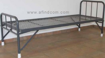 hospital steel bed supplier africa mining school foldable namibian folding