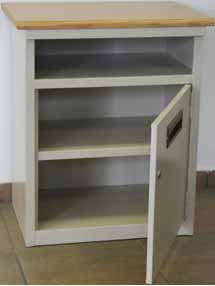 hospital vanity pedestal cupboard