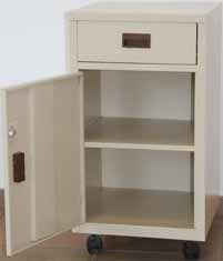 hospital bedside vanity drawer door