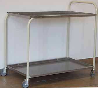hospital medicine tea trolley stainless steel