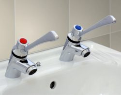 WC-480HL elbow action medical pillar tap Afindcom