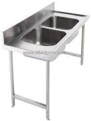 double bowl catering sink africa