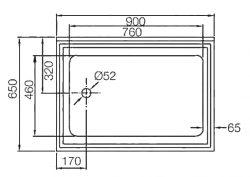 single-bowl-pot-sink-diagram-top
