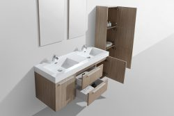 bathroom vanities oak light wood