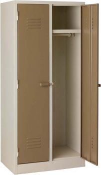 change room washroom locker steel ivory
