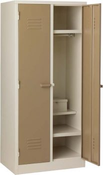 double door sports locker steel hostel supplier