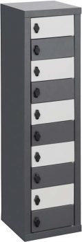 7 compartment tablet cell phone locker supplier
