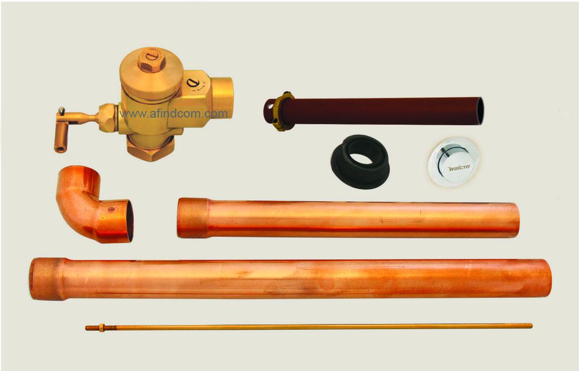 Toilet flush valves | Concealed toilet flush valves | Prison flush