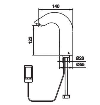 COB-EL-JOE sensor tap diagram