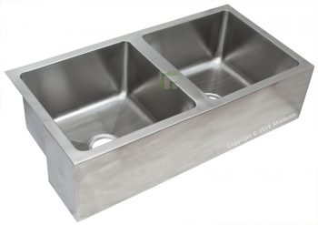 stainless steel double laboratory sink lab hospital supplier grade 304