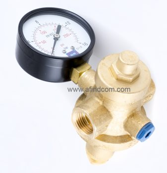 pressure regulator water gauge