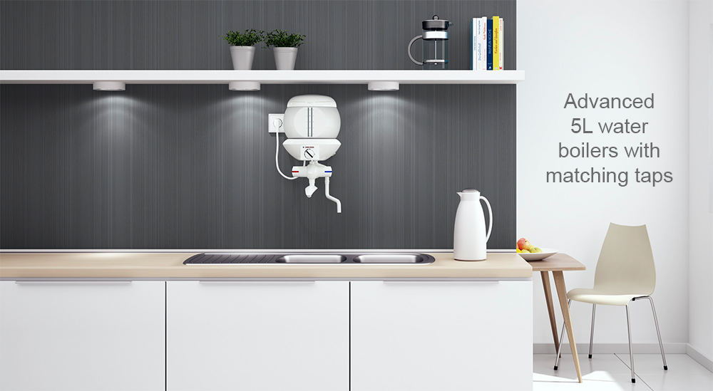 kitchen medical doctors clinic kitchenette water boiler wall mount