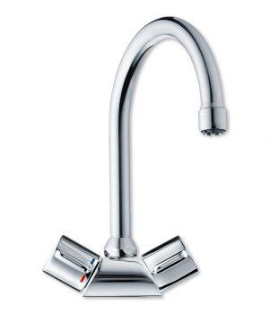 under sink water heater tap