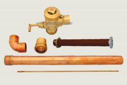 WC-106C-SS prison flush valve