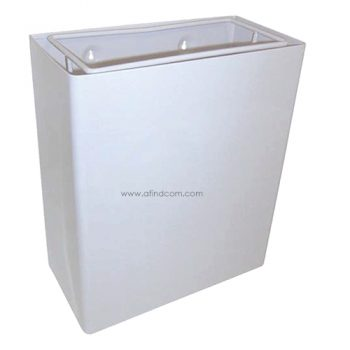 CL-00778 Econo wall mounted waste bin white 21 litres liter