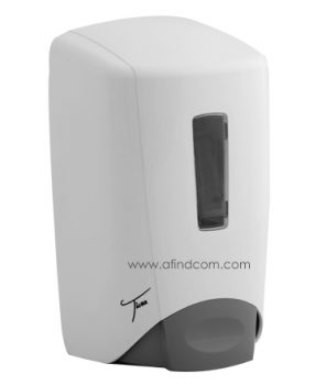 white plastic wall mounted soap dispenser shopping malls