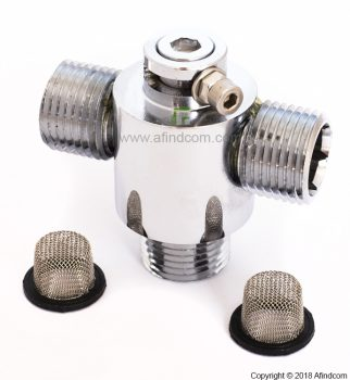 mechanical hot cold mixing thermostatic valve