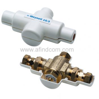 Industrial burn protection anti-scalding thermostatic mixing basin valve
