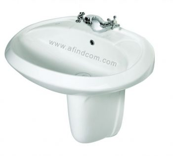 lotus round ceramic vaal vaalsan bathroom hospital basin