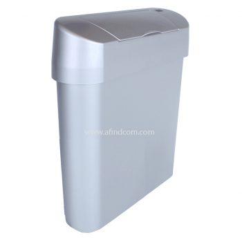 slimline narrow small sensor hands free hygienic sanibin sanitary bin zambia botswana